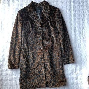 Express Women's Leopard Coat